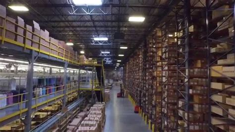 3pl warehouse facility tour the apparel logistics