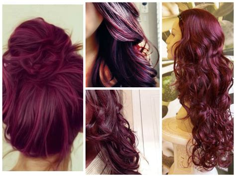 plum hair color burgundy hair color ideas hair world magazine