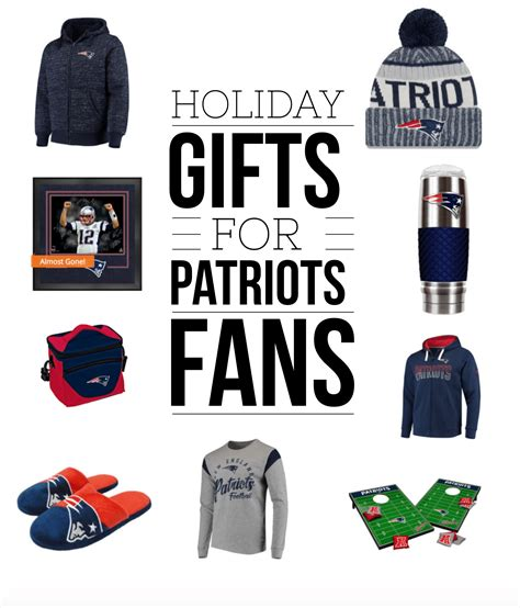gifts for patriots fans patriots gear and gifts holiday gift guide for new