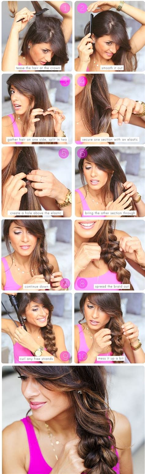 over 50 easy hair tutorials 25 braided hairstyles for your easy going summer easy