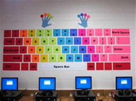 themes for college techfest elementary computer lab bulletin board computers in the