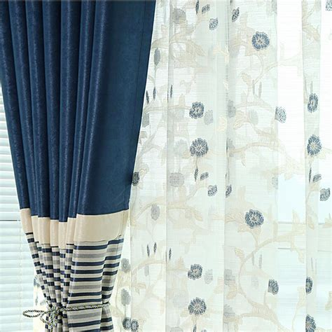 navy blue ready made curtains brief navy blue blackout living room ready made striped