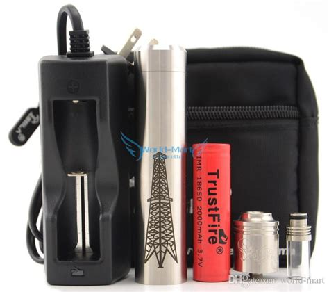The Rig Kit Mechanical Clone tesla rig mechanical mods kit vaporizer 1 1 rig clone mech with plume veil e cig rda atomizer