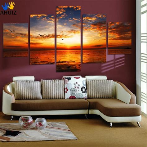 decoration pieces for home 5 pieces unframed wall art picture gift home decoration