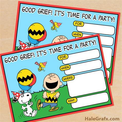printable snoopy birthday decorations free printable peanuts birthday invitation