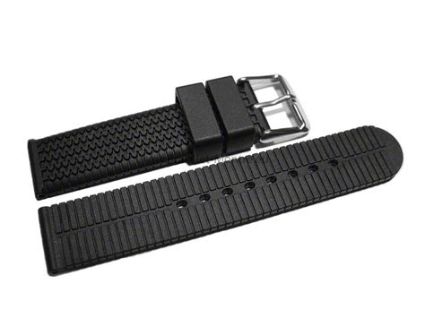 Bracelet de montre   silicone   Modèle Pneu