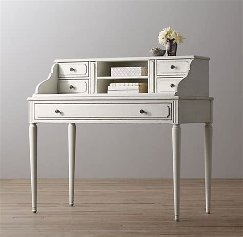 white writing desk with hutch marcelle writing desk hutch