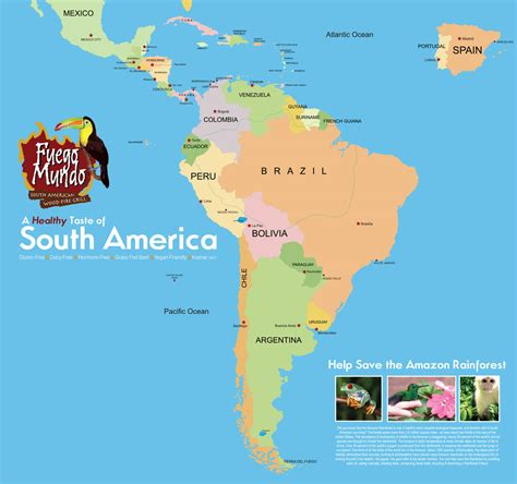 map of central and south america central and south america countries www pixshark