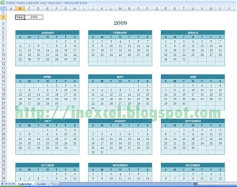 any year calendar template excel template 003 any year calendar