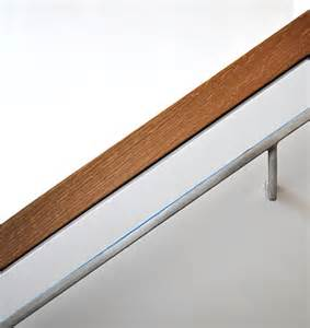 Wall Mounted Handrail For Stairs Present Day Handrails Adding Contemporary Style To Your