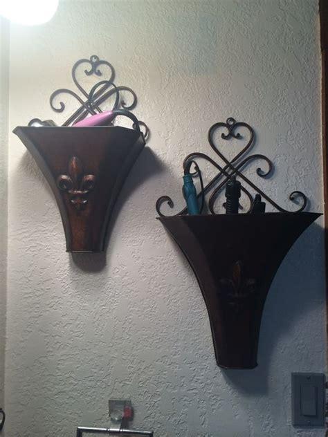 Hair Dryer Straightener Curling Iron Holder curling iron hair dryer and straightener holder my