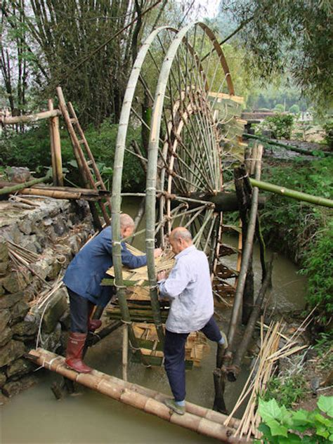 Kincir Hamster Wheels bambus als material bauen mit bambus architektur f 252 r