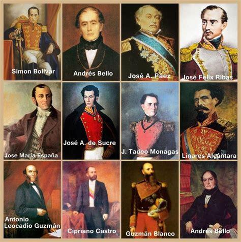 Imagenes Personajes Historicos De Venezuela | personajes de la historia de venezuela venezuela my