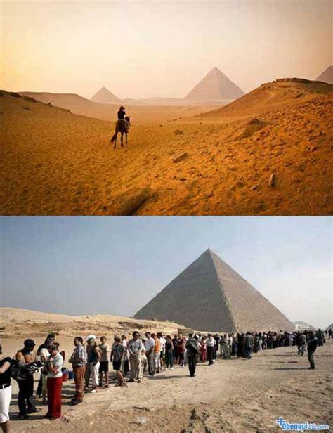 film romantis mesir foto tempat pariwisata berbeda dengan tempat aslinya
