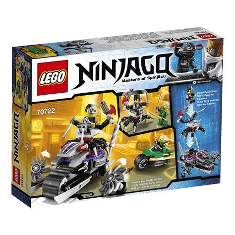 Lego Transform Warrior Thunder ninjago 2014 rebooted