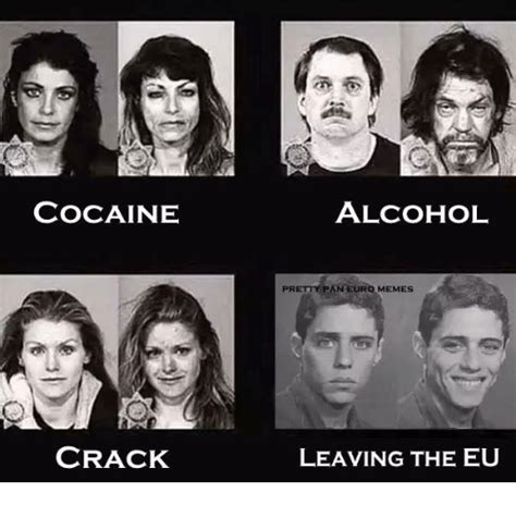 Crack Cocaine Meme - legal eu president threatens to break up the us in