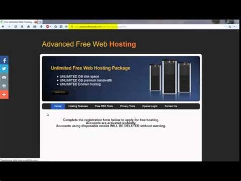 unlimited  cpanel web hosting   ads