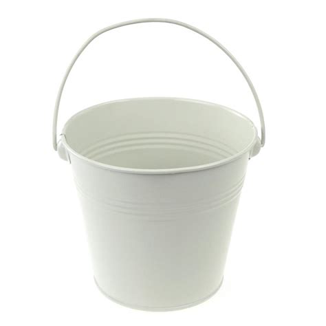 Martini Table With Bird Metal Pail Buckets Party Favor 5 Inch White Www