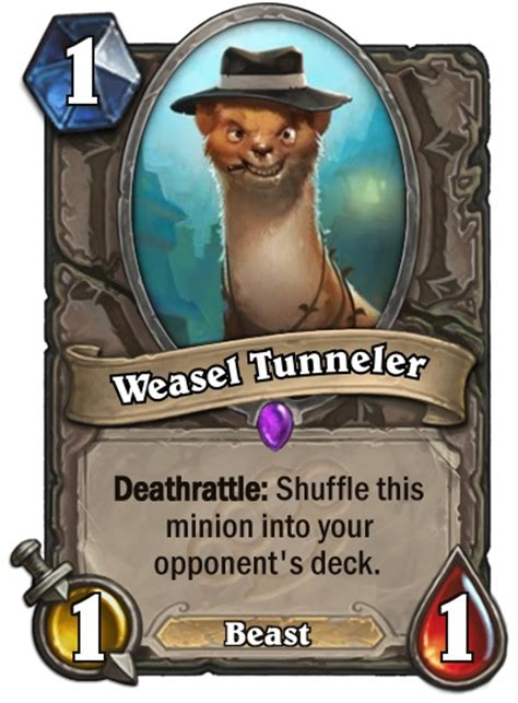 weasel tunneler druid deck hearthstone how will the streets of gadgetzan change hearthstone