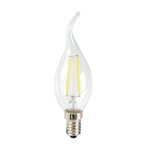 In Lite Led 14 Watt 2 watt led e14 small edison filament light bulb clear from litecraft