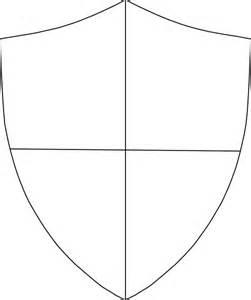 crest shield template sheild clip at clker vector clip