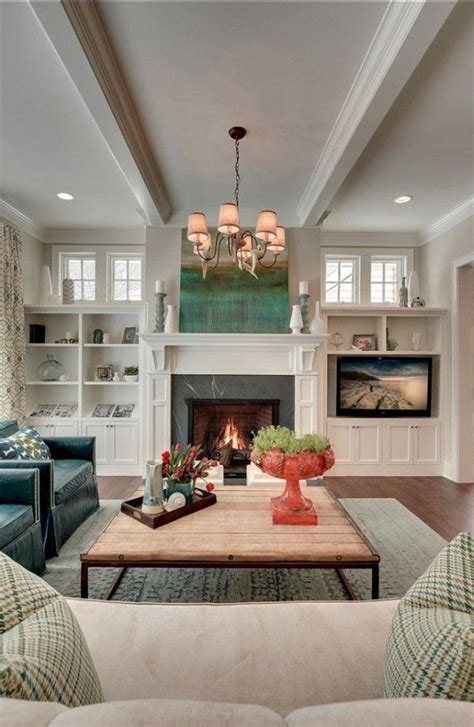 tv in front of window current inspiration pinterest fireplace cabinetry inspiration windows above built in
