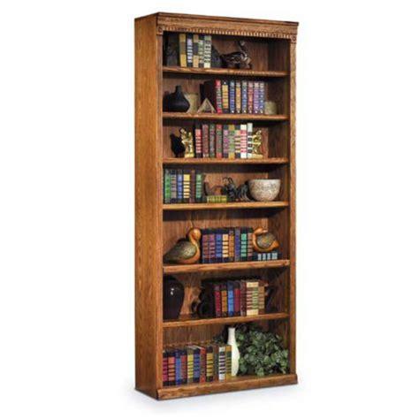 Wheat Shelf by Wheat Oak Seven Shelf Bookcase 84h Officefurniture
