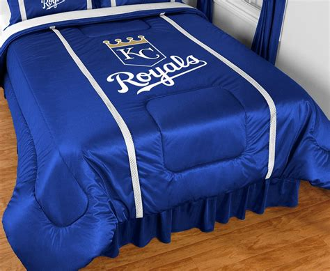 kansas city royals bedding kansas city royals sideline comforter blanket warehouse