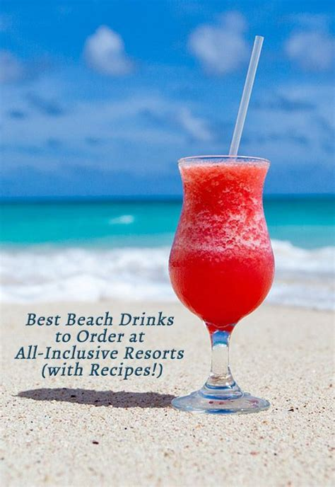 top mixed drinks to order at a bar best beach drinks to