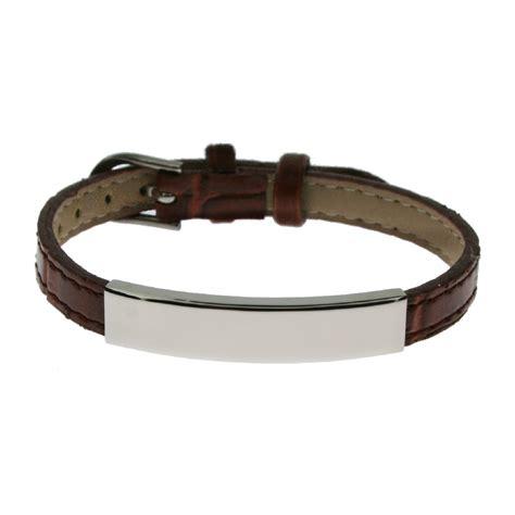 mens leather engraved bracelets canada best bracelet 2018
