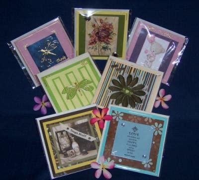 Handmade Gift Certificates - exquisite made gift cards