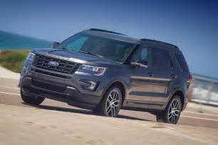 Ford Explorer Sport 2016 Ford Explorer Reviews And Rating Motor Trend