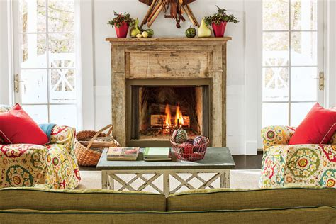25 cozy ideas for fireplace mantels southern living antique fireplace mantel 25 cozy ideas for fireplace