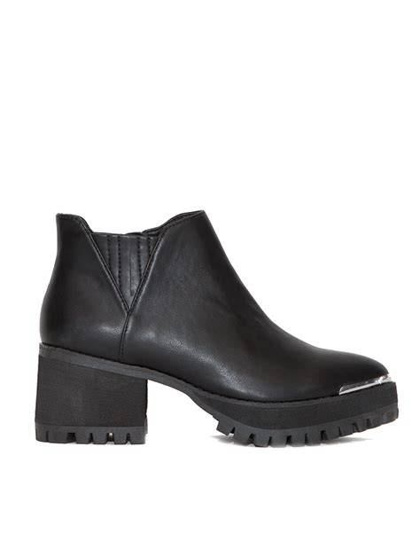 yru shoes yru wolf pointed ankle boots in black lyst