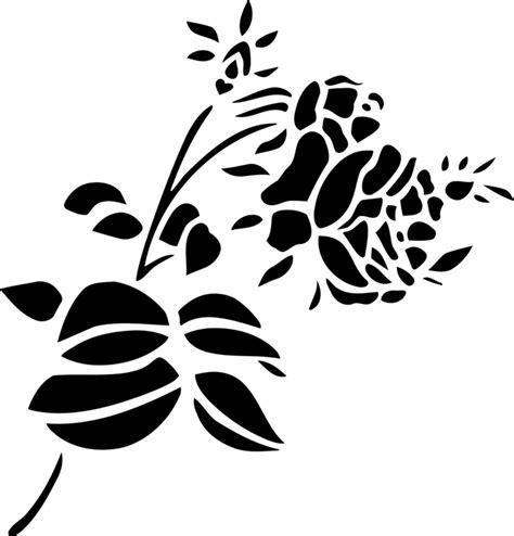 rose flower png black  white  rose flower black