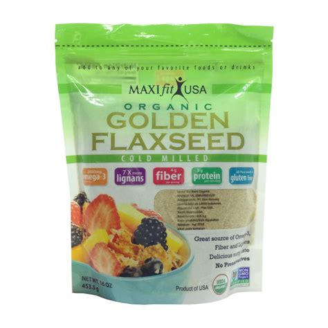 maxifit golden flaxseed olivmart eat well live better