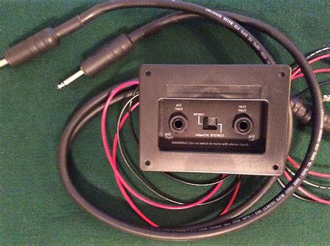 fender 4x12 guitar speaker cab wiring harness bonus