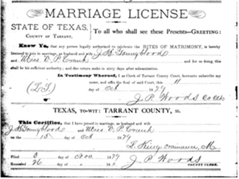Arlington Tx Marriage Records Marriage Records Hrant