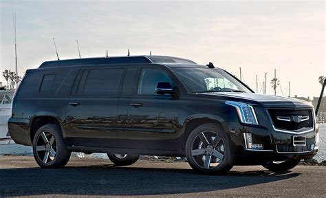 cadillac escalade custom custom stretched cadillac escalade evs offers jet