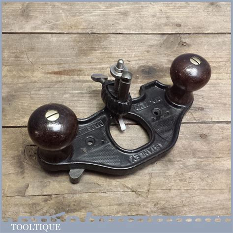 stanley usa closed throat router plane rosewood