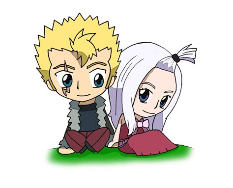 fairy tail laxus and mirajane by candyaddict774 on
