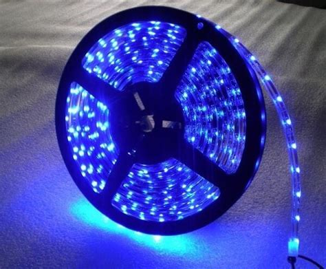 5m waterproof marine led lights blue light