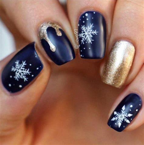 snowflake pattern for nails 55 joyful christmas nails ideas joyful winter nails and