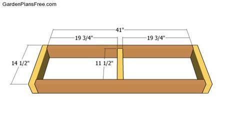 snowboard bench frame snowboard bench frame plans image mag