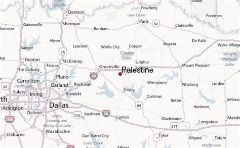 map of palestine texas palestine texas weather forecast