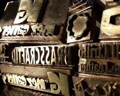 jual stempel emboss st bakar bahan kuningan untuk branding logo brasscraftid