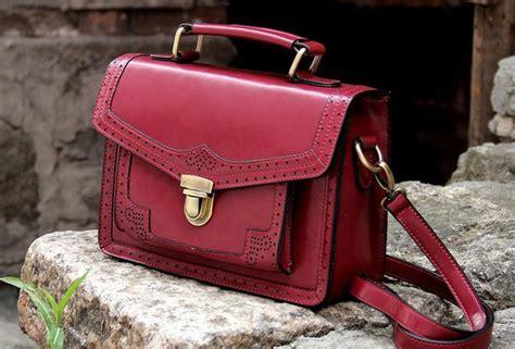 Handmade Leather Satchel - handmade vintage satchel leather messenger bag white