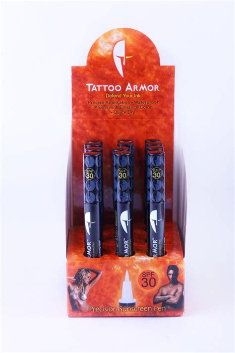 Tattoo Sunscreen Pen | tattoo armor announces their new precision sunscreen pen
