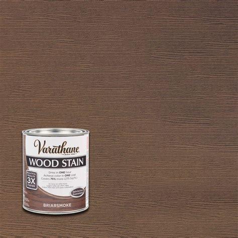 varathane 1 qt 3x briarsmoke premium wood stain of