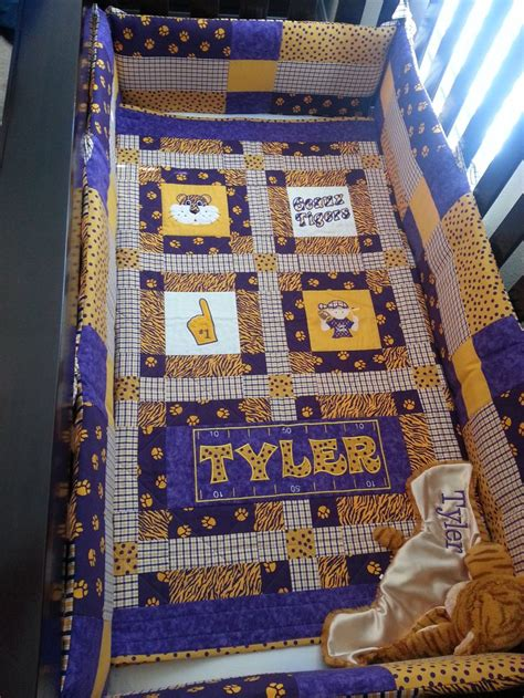 Lsu Quilt by 118 Best Images About Lsu Baby On Ties